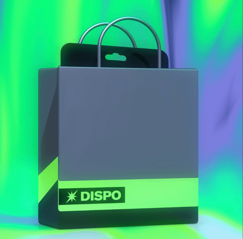 Dispo(ディスポ)の利用開始前の画像