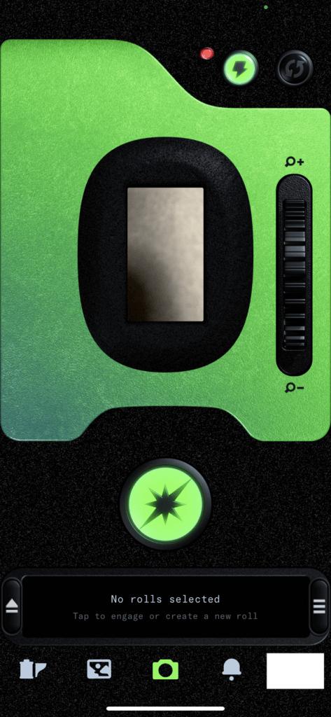 Dispo(ディスポ)のカメラ画面
